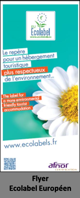 Flyer Ecolabel Européen