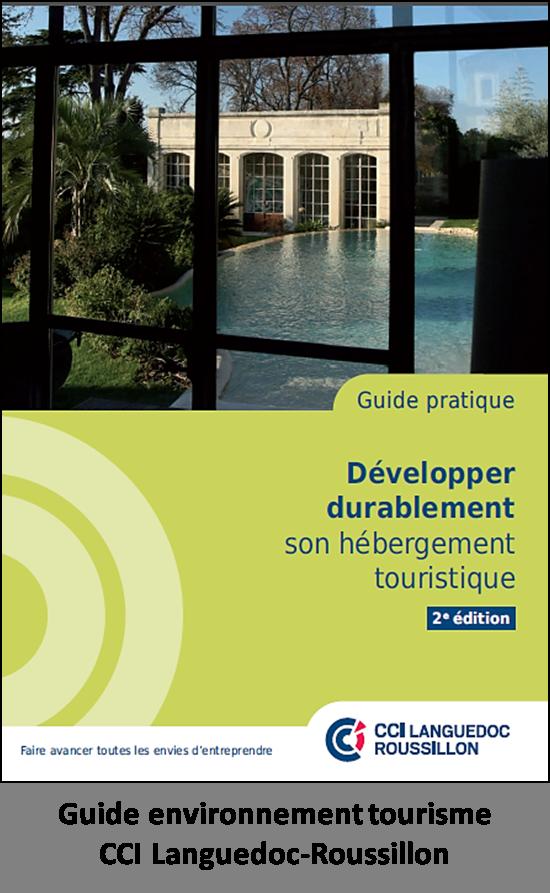Guide environnement tourisme CCI Languedoc-Roussillon