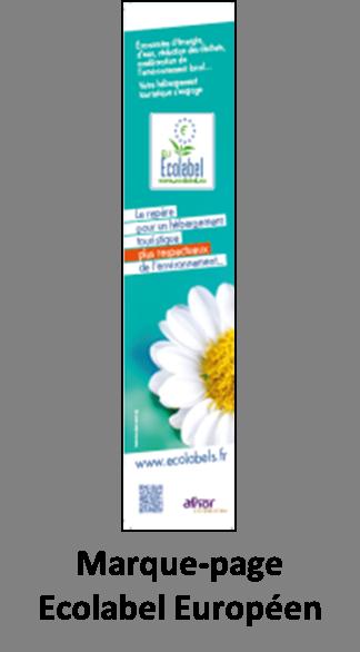 Marque-page Ecolabel Européen  AFNOR
